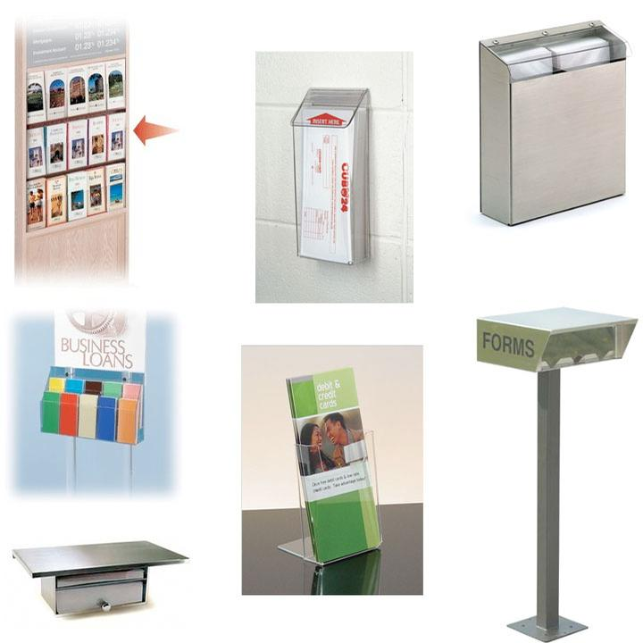 Signs & Displays, Brochure Holders
