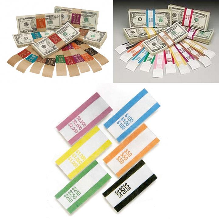 Cash Handling, Currency Straps