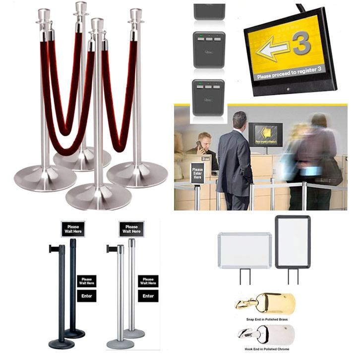 Lobby Supplies, Crowd Control Products