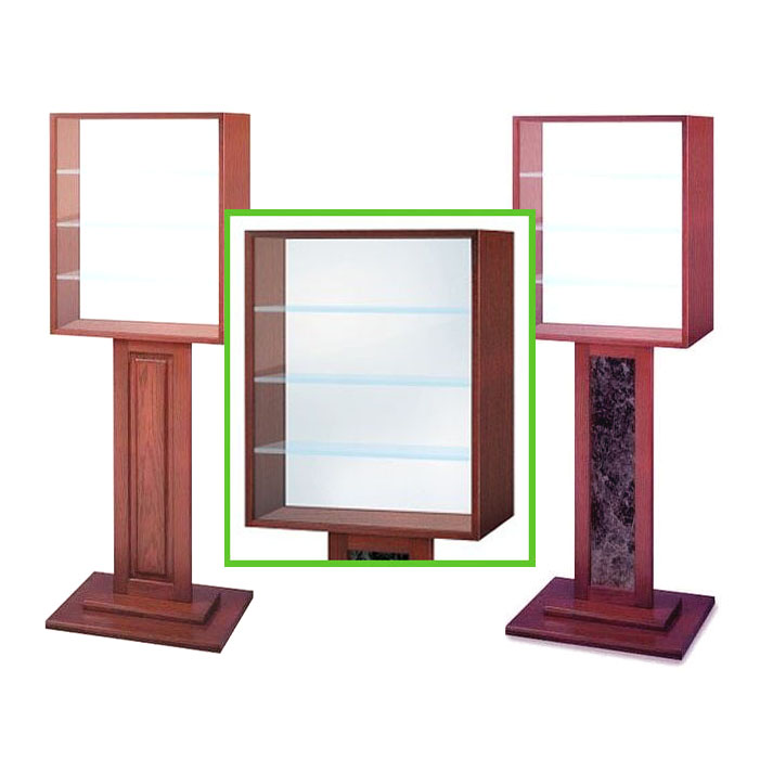 Signs & Displays, Free-Standing Display Cases