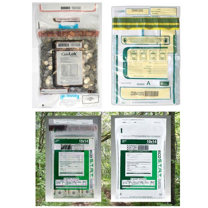 Bags & Accessories, Tamper-Evident Disposable Bags
