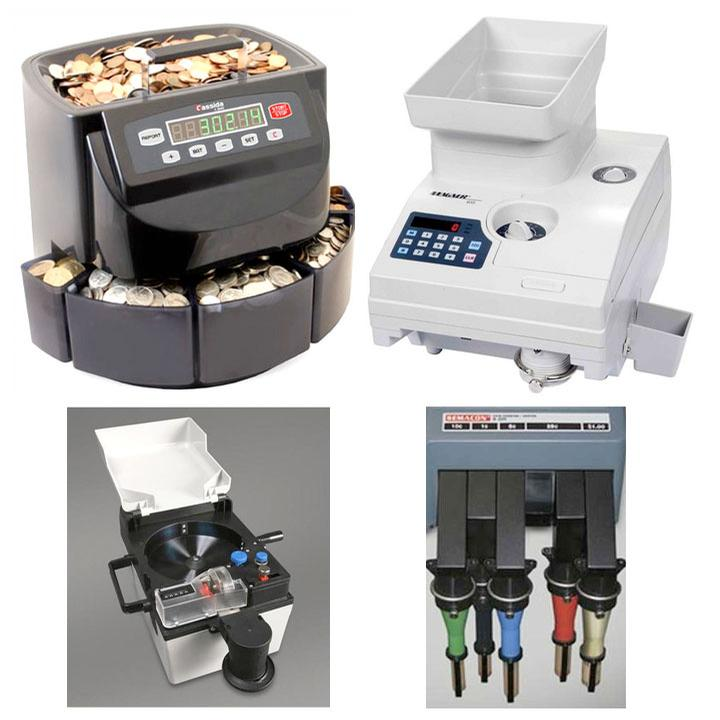 Cash Handling, Coin Sorters & Counters