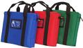 Briefcase-Style Nylon Transit Bags for Inter-Office Communication