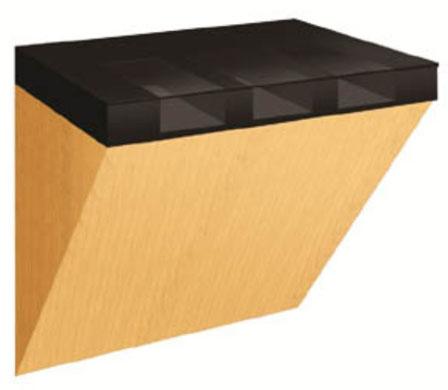 Wall Mounted Check Writing Desk For Bank Vestibules U S
