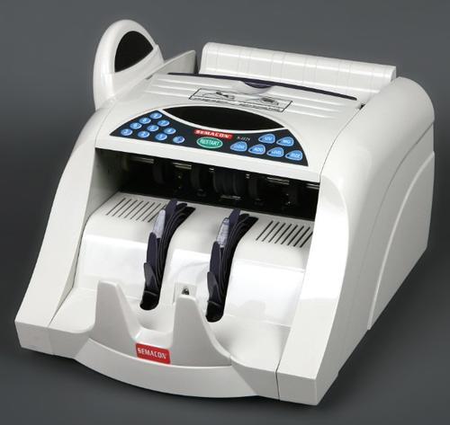 Semacon Currency Counter Model S-1125 with UV and MG Counterfeit Detection  - Main Image
