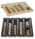 Six denomination loose coin tray model 5701 has room for pennies, nickels, dimes, quarters, halves and dollars.