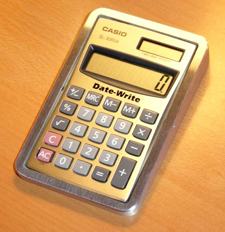 Solar Powered Calculator with Surface Mount