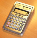 Solar-Powered Calculator