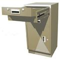 Standing Height Teller Pedestal With Removable Cash Drawer