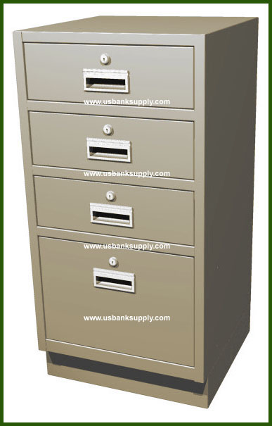 Standing Height Teller Pedestal With 3 S Drawers U S