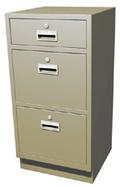 "Teller Pedestal with 1 ""S"" Drawer, 2 Legal File Drawers"