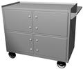 Inner Vault Truck with 4 Oversize Lockers, Dual Custody Lock