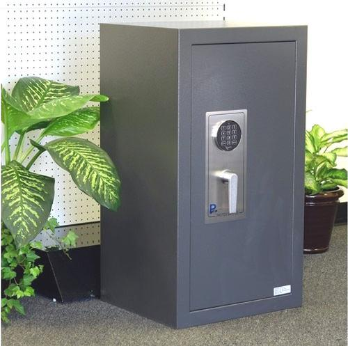 "LARGE BURGLARY SAFE WITH ELECTRONIC LOCK --  20"" W x 36-5/8"" H x 17-3/4"" D - Main Image"