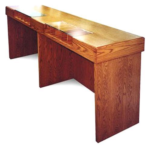 One Sided Check Desk For Vestibules