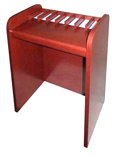 One-Sided Check Desk with Seven Compartments  - Main Image