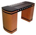 Two-sided Check Desk - 16 compartments and feature strips