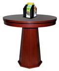 Circular Check Desk with Octagon Base -- PRICE $3,339.00 - Main Image