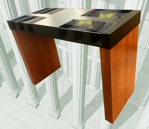 Wilshire Series Two-Sided # Check Writing Desks -- PRICE $3,175.00  - Main Image