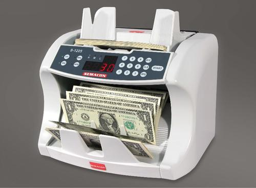 Semacon S-1225 Currency Counter with Counterfeit Detection