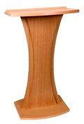 Slim and Elegant Lectern with Tapered Sides