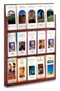 Wall Mounted Brochure Display - 15 Pocket