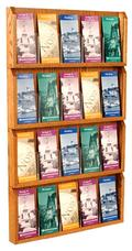 Wall Mounted Brochure Holder - 20 Pocket