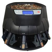 STEELMASTER COIN COUNTER, SORTER AND WRAPPER ALL-IN-ONE MACHINE
