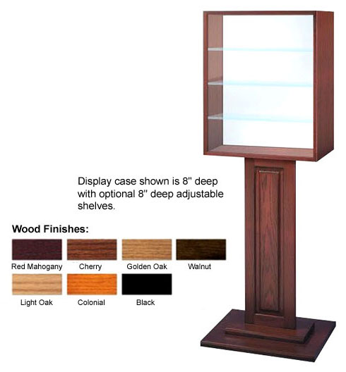 Free-Standing Display Case, Selection of Thicknesses  - Main Image