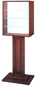 Free-Standing Display Case - Bank Display