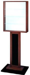 Elegant Free-Standing Display - Wooden Frame