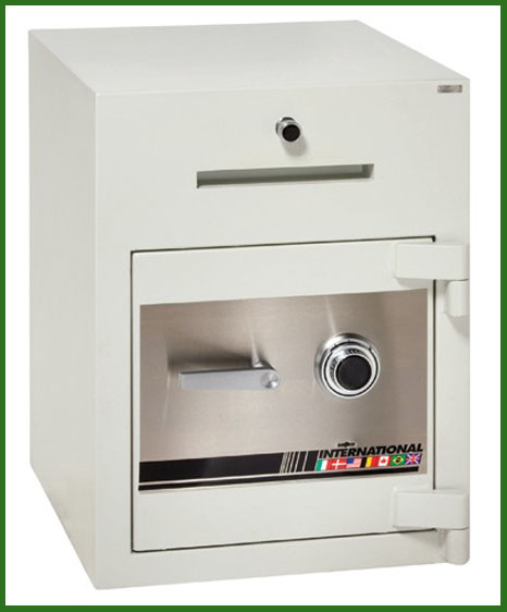 Burglary and Fire-Resistant Depository Safe  - Main Image