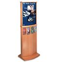 Two-Sided Floor Standing Graphics Display