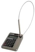 Slim Line Calculator-Pen Combination Unit, Square or Round Corners