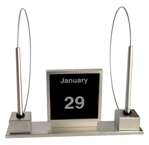 Pertetual Calendar with 2 Security Pens