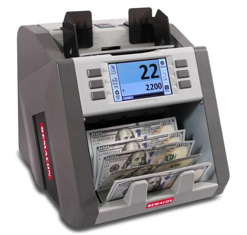 Semacon S-2200 Bank Grade, Single Pocket Currency Discriminator - Main Image