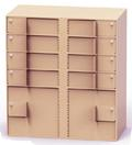 8 Teller Lockers & 2 Coin Cabinets Vault Interior Unit