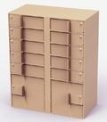 Interior Vault,10 Teller Lockers, 2 Coin Cabinets: Cash Storage