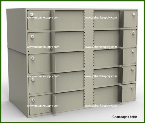 Double-Width Vault Interior Unit with 10 Teller Lockers - Main Image