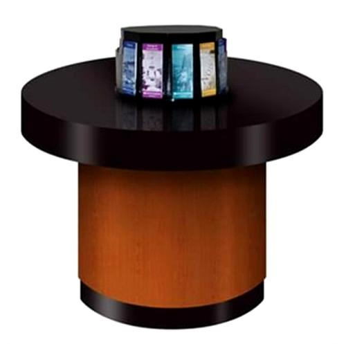 Circular Check Writing Stand With Optional Literature