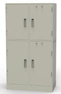 Cash Storage Collateral Locker, 2 Compartments, Adjustable Shelves