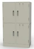 Collateral Locker with 2 Compartments & Adjustable Shelves
