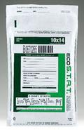 Green ECO STAT Tamper Evident White Bags 10