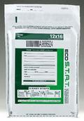 Tamper-Evident ECO STAT White Deposit Bags with Outside Pocket