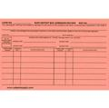 SAFE DEPOSIT BOX ADMISSION RECORD CARDS -- TWO SIDED (PACK OF 100)