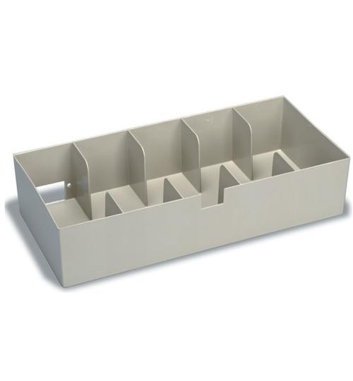 Cash Tray - 5-Compartment Plastic - Main Image