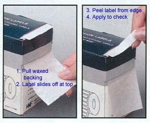Micr Check Correction Labels 2 X 7 16 U S Bank Supply