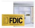FDIC window stickers
