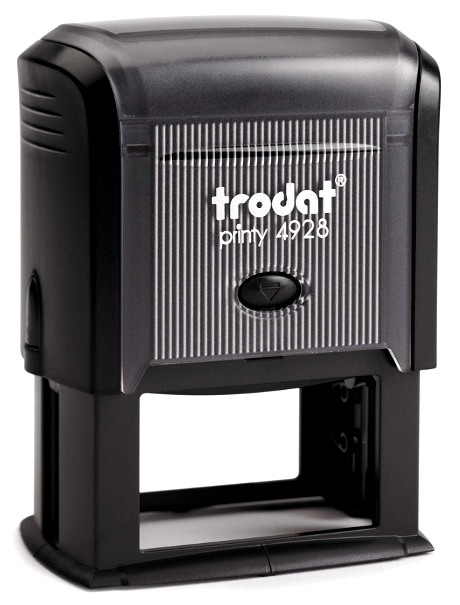 SEKF INKING TRODAT PRINTY STAMP - 1-5/16 inch H x 2-3/8 inch W  Stamp Area for Up to 10 Lines Of Text - Main Image