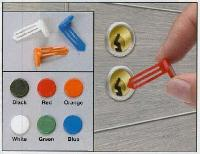 Nylon Vault Key-Hole Signals -- Box of 25