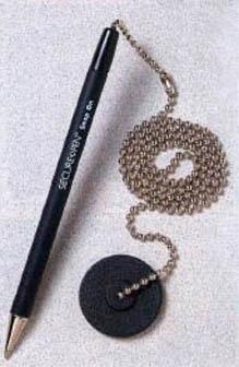 Secure A Pen Counter Pen U S Bank Supply